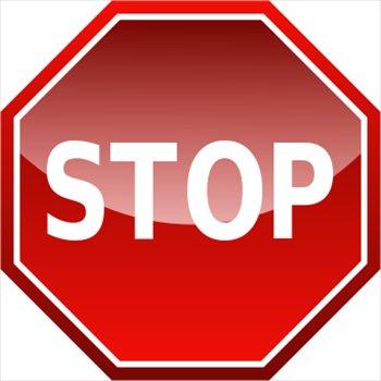 online stop sign